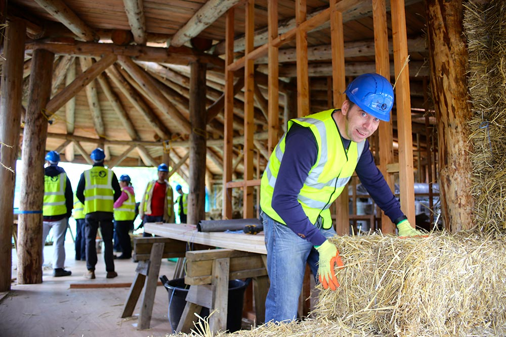 Straw Bale Building Courses this month: 1 space left